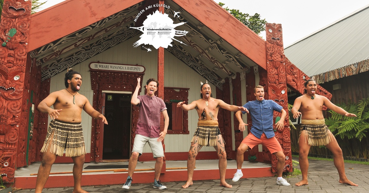 minden ami kulfold maori falu Rotorua